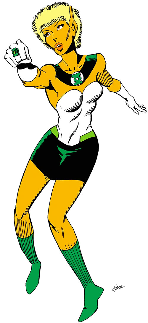 Arisia (Green Lantern) (DC Comics) from the Who's Who
