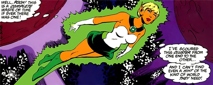 Arisia of the Green Lantern Corps