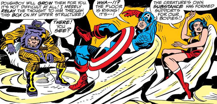 Arnim Zola, Doughboy and Captain America