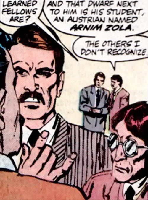 Arnim Zola before his transformation
