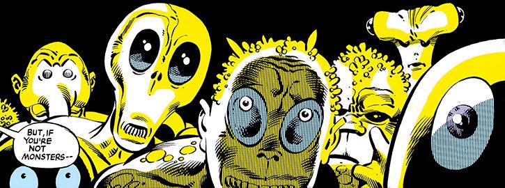 Random mutants of Arnim Zola