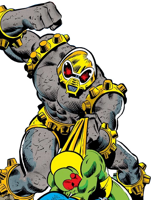 Arsenal robot (Marvel Comics Avengers) vs. the Vision