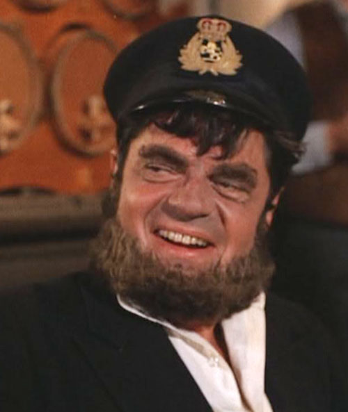 Artemus Gordon (Ross Martin in Wild Wild West) disguised as a bearded sailor