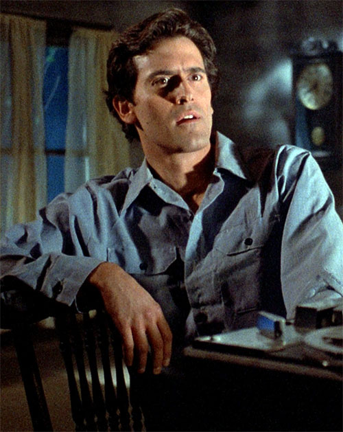 Ash (Bruce Campbell in Evil Dead)