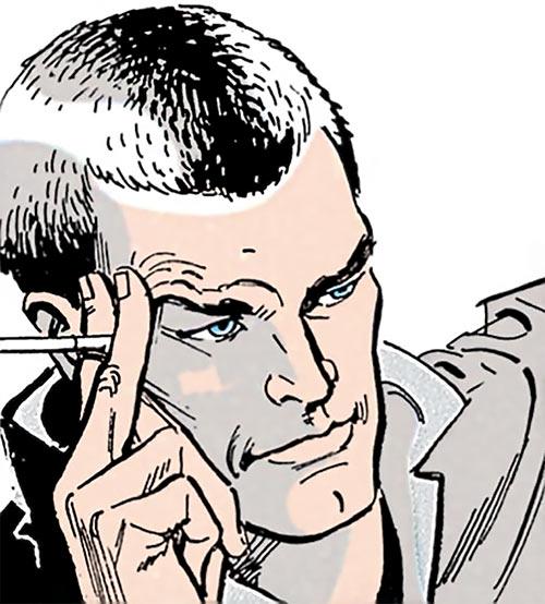Ashe (Cinder & Ashe) (DC Comics) face closeup