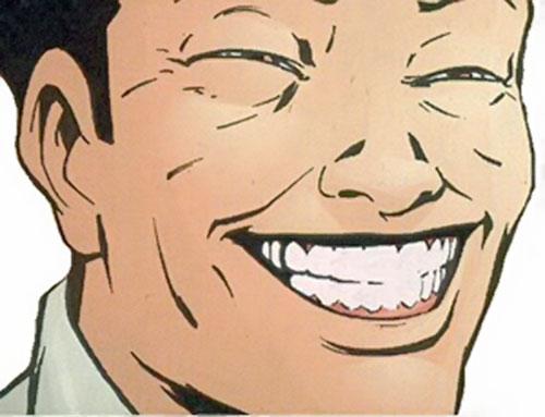Asia Minor (Fallen Angel character) (Peter David comics) smiling face closeup