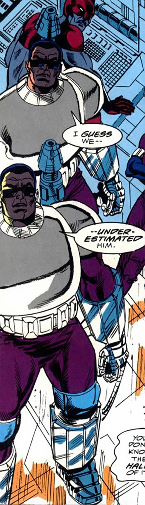 Assault & Battery (Nick Fury enemies) (Marvel Comics)