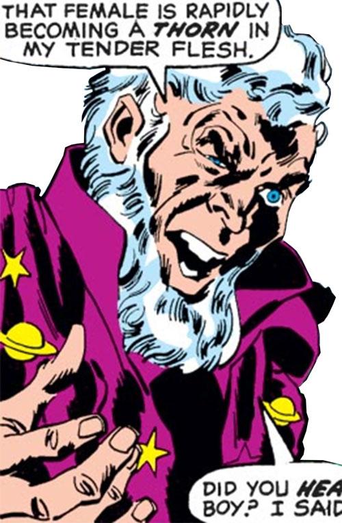 Astrologer (Black Widow enemy) (Marvel Comics)