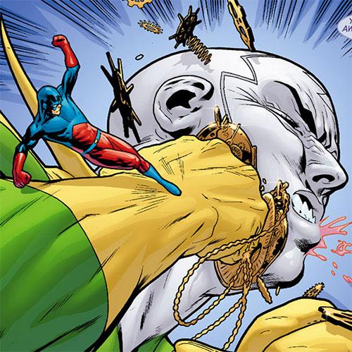 The Atom (Ray Palmer) (DC Comics) vs. Chronos