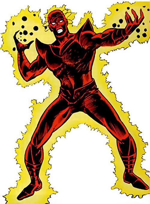 Atom-Smasher (Black Goliath & Thing enemy) (Marvel Comics)