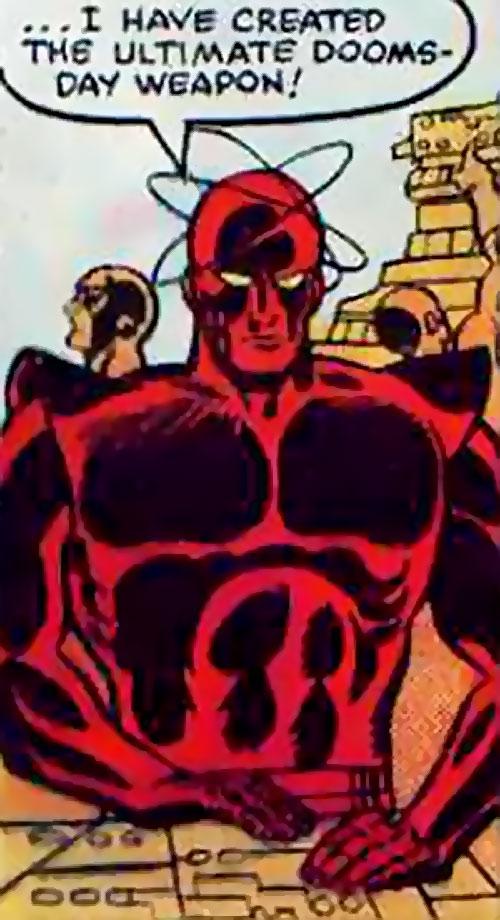 Atom-Smasher (Black Goliath & Thing enemy) (Marvel Comics) working