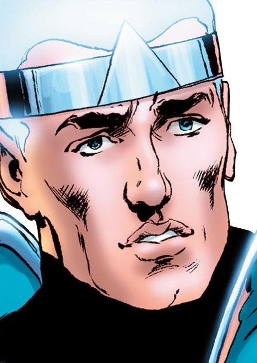 Atomicus (Astro City comics) face closeup