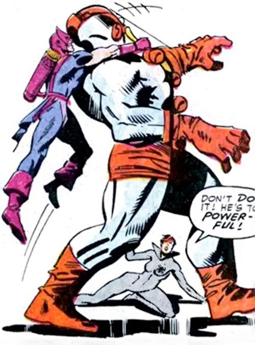 Attackoid (Hawkeye / Black Widow enemy) (Marvel Comics)