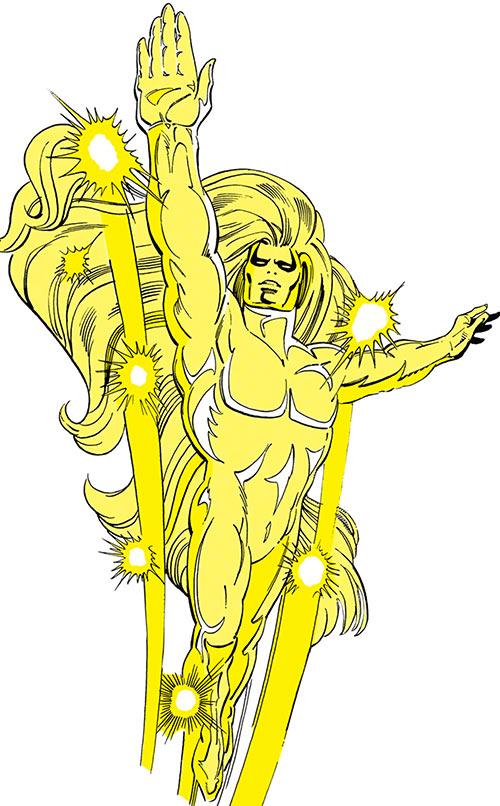 Auron of the Omega Men (DC Comics)