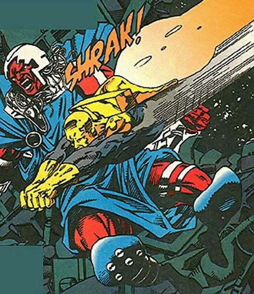 Auron (Superman ally) (DC Comics) vs. Massacre