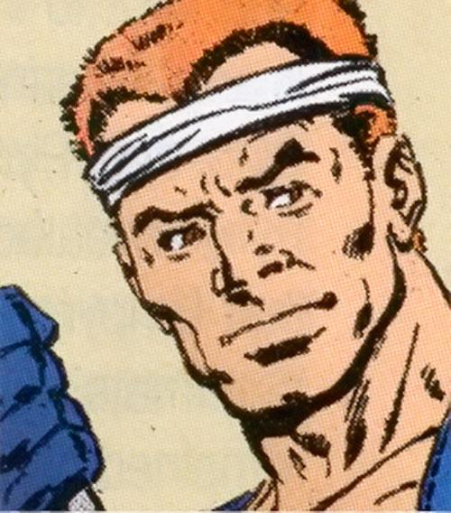 Avalanche (Marvel Comics) face closeup