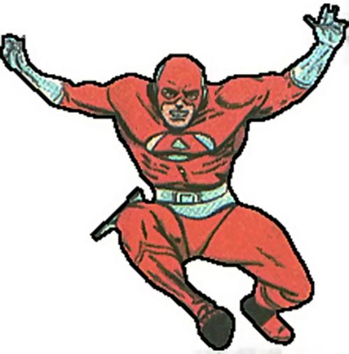 Avenger (Femforce) (Sentinels) leaping