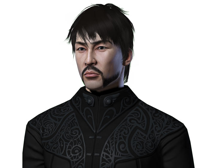 Avernum player character Nam N'Guyen