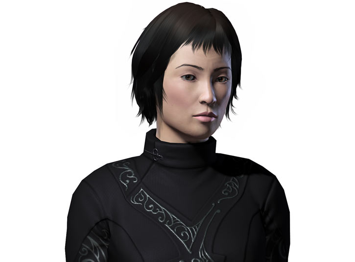 Avernum player character Thanh N'Guyen