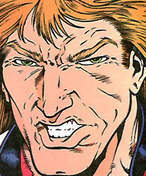 Badger (First Comics) face closeup
