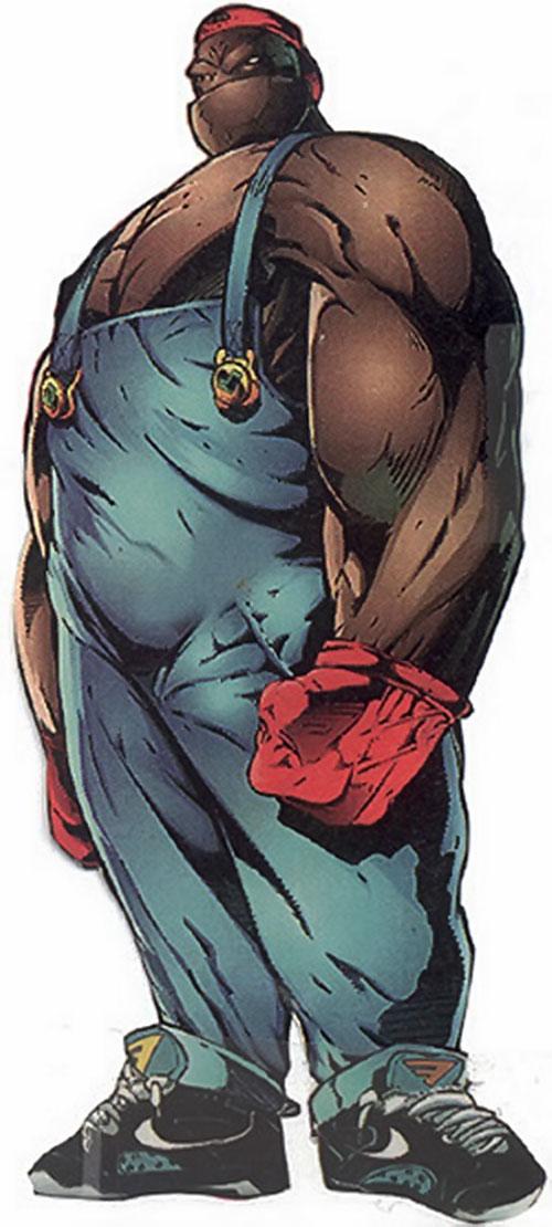 Badrock of Youngblood (Image Comics)