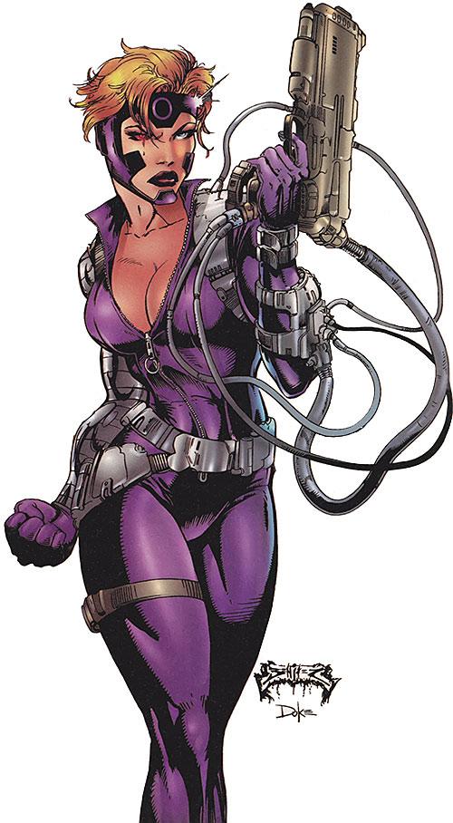 Ballistic from Cyberforce (Image Comics)
