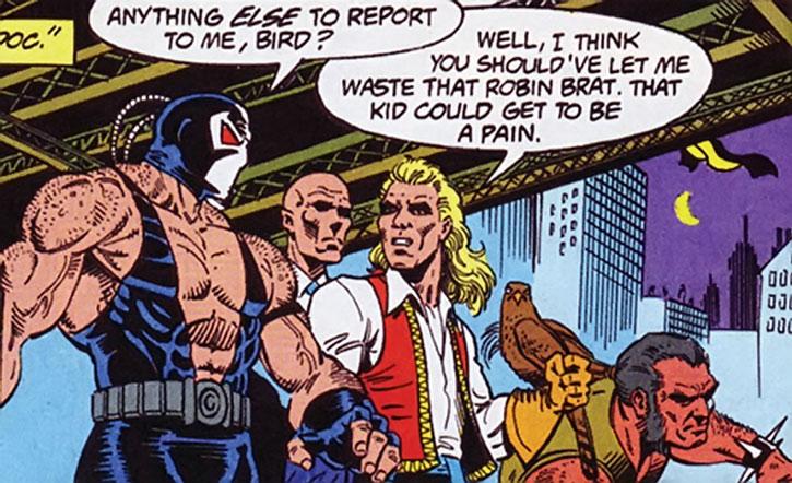 Bane and his lieutenants