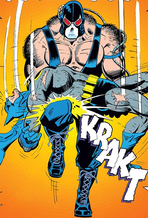 Bane (DC Comics) breaks Batman's back