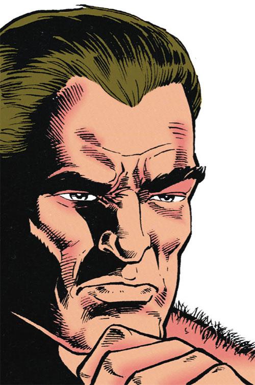 Bane (DC Comics) (Batman enemy) face closeup