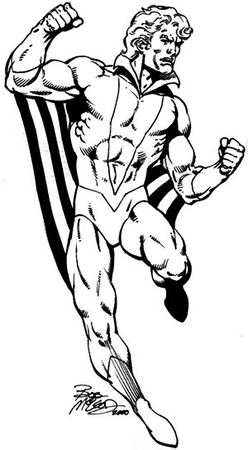Banshee of the X-Men (Marvel Comics) by Bob McLeod
