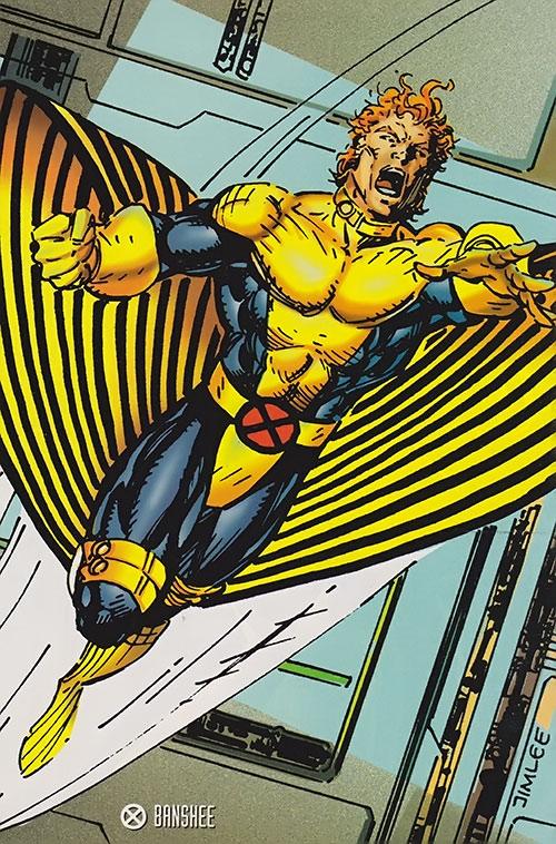 Banshee of the X-Men (Marvel Comics) by Jim Lee