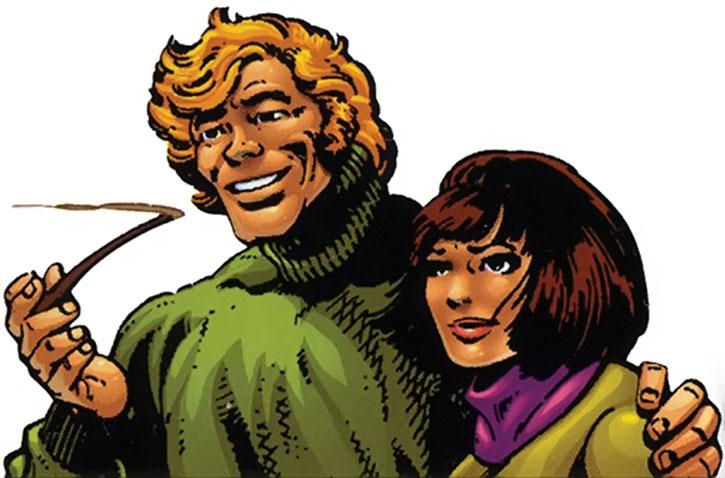 Banshee (Sean Cassidy) and Doctor Moira MacTaggart