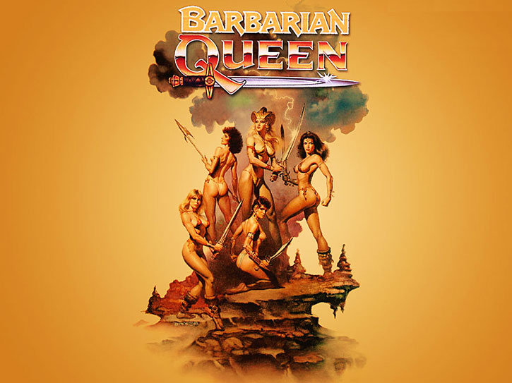 The barbarian queen movie