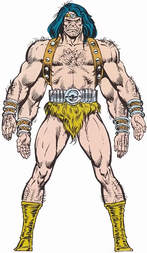 Barbarus of the Savage Land Mutates (Marvel Comics)