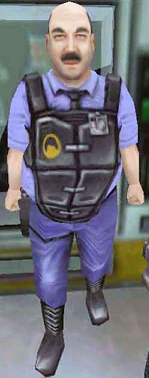 Otis of Black Mesa security (Half Life Blue Shift)