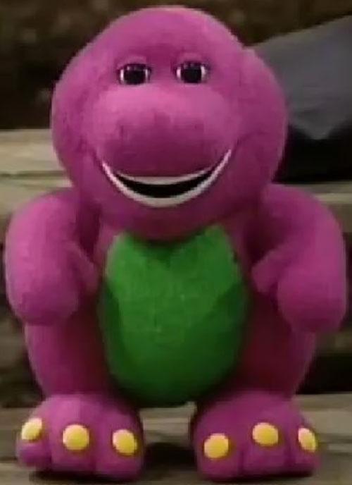 Barney plush dinosaur