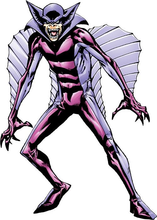 Baron Blood (Marvel Comics) shuffling