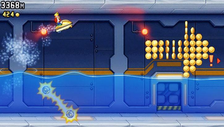 Jetpack Joyride game screenshot 4/4