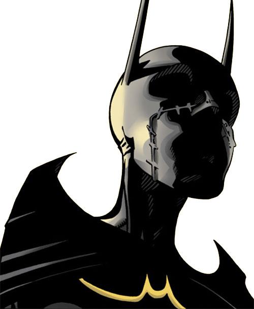 Batgirl (Classic Cassandra Cain) (DC Comics) low angle portrait