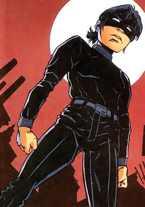 Batgirl (Classic Cassandra Cain) (DC Comics) in black civvies