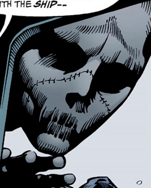 Batgirl (Classic Cassandra Cain) (DC Comics) masked face closeup