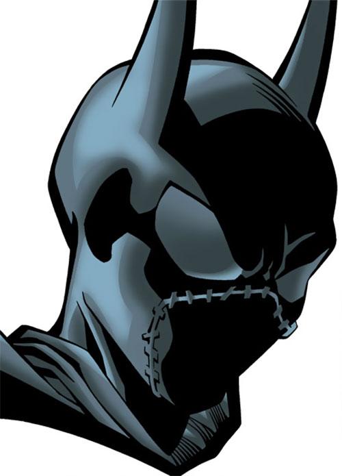 Batgirl (Classic Cassandra Cain) (DC Comics) mask closeup