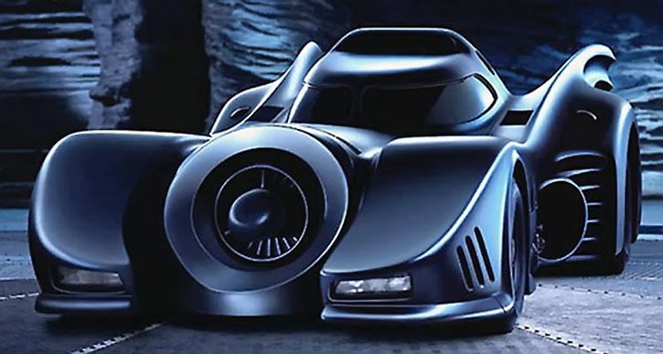 The Batmobile from the 1989 Batman movie