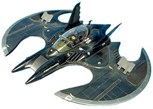 The Batwing in the 1989 Batman movie (model)