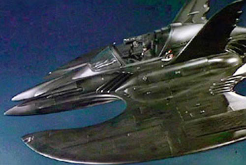 The Batwing in the 1989 Batman movie