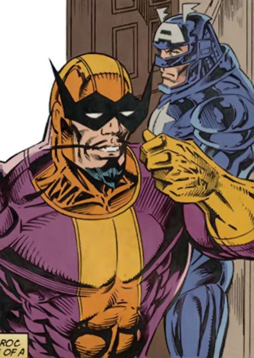 Batroc and a dying Captain America