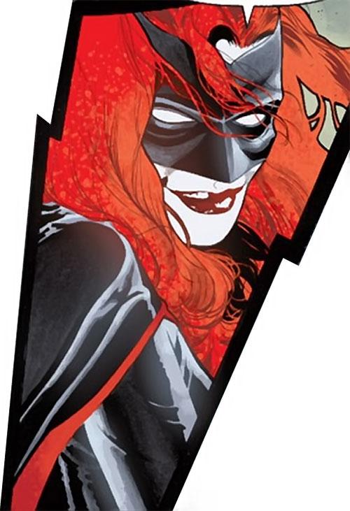 Batwoman (Katherine Kane) (DC Comics modern) sexy smile