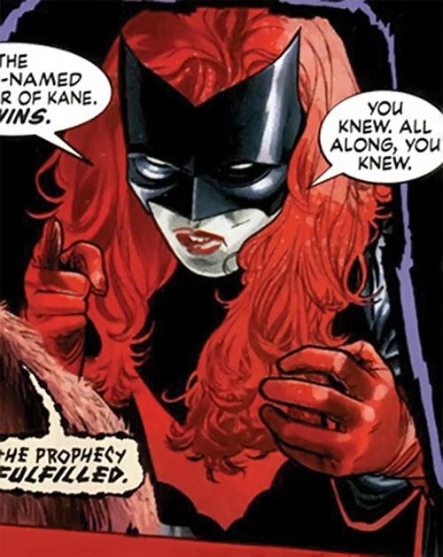 Batwoman (Katherine Kane) (DC Comics modern) accusing