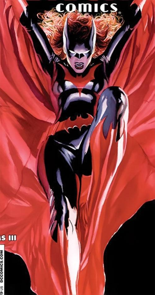 Batwoman (Katherine Kane) (DC Comics modern) leaping down