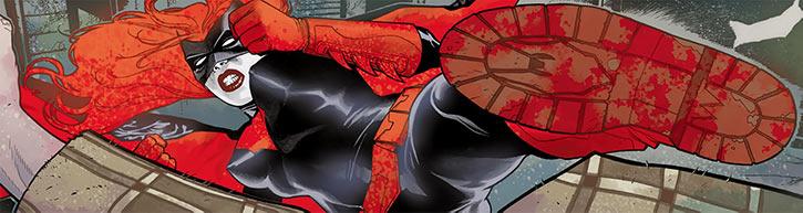 Batwoman (Kate Kane) kicking